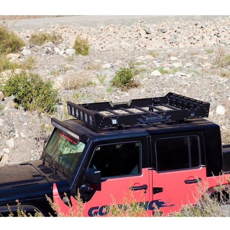 Fästen Go Rhino för takmontering av lastkorg