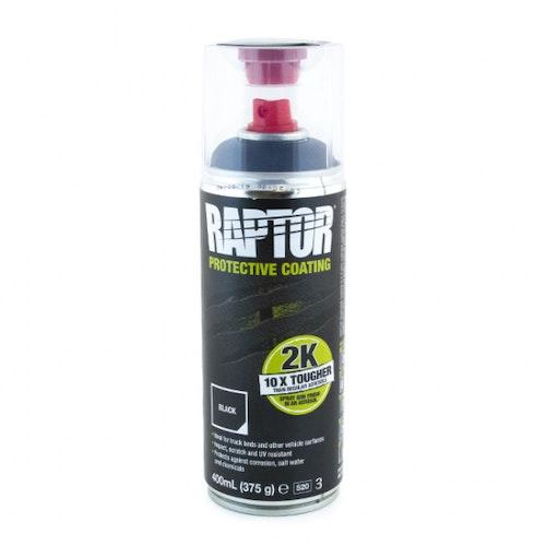 Raptor Bedliner Spray 400ml SVART