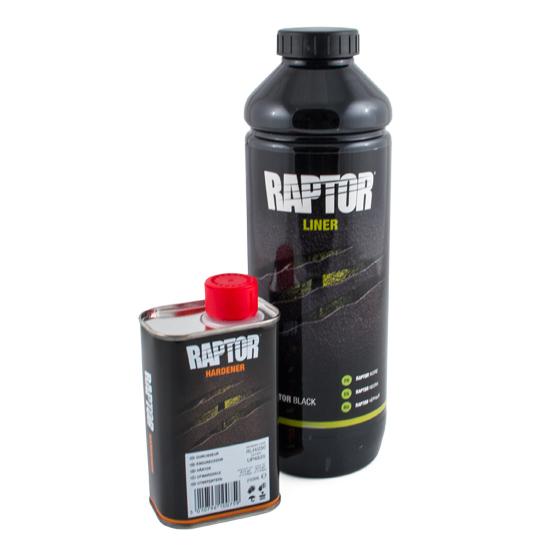Raptor Bedliner 0,95L SVART
