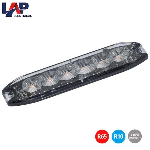 Blixtljus T-LED-6 Slime Line - Orange - LAP