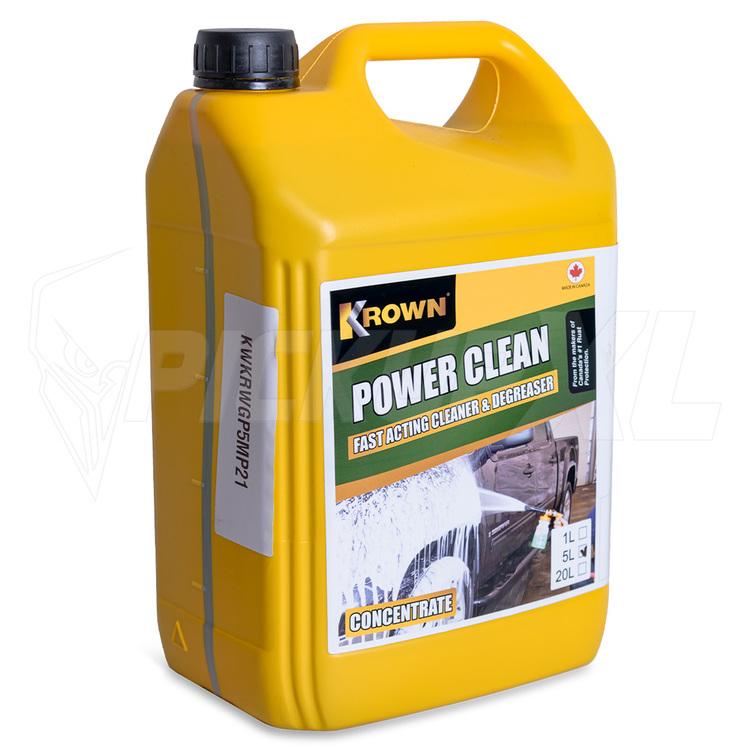 Power Clean Shampo / Avfettning - Krown  5L