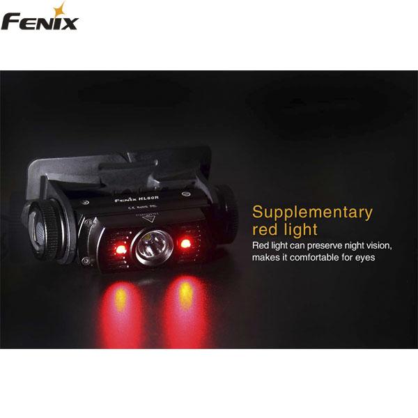 FENIX PANNLAMPA HL60R 950 LUMEN