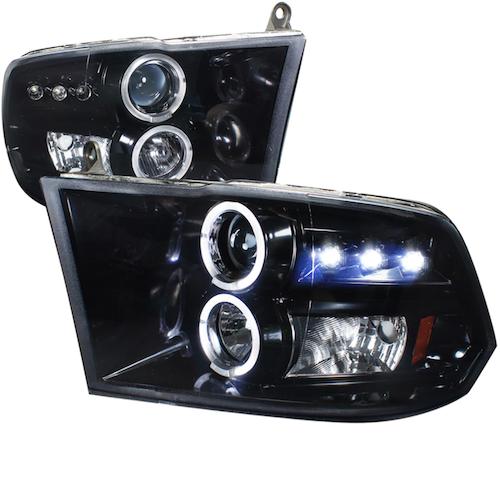 Facelift strålkastare Dodge Ram 1500 09-18
