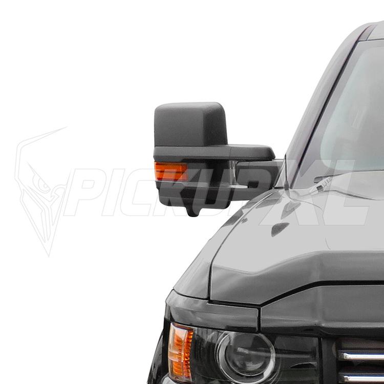 Towing Mirrors, Svart. LED, El-fällbara, Defrost. Silverado 2014-2018