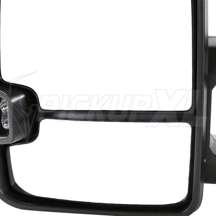 Towing Mirrors, Svart / Smoke. LED, El-fällbara, Defrost. Silverado 2003-2006