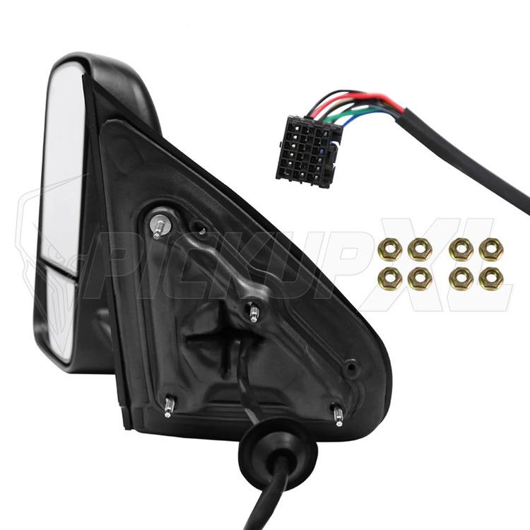 Towing Mirrors - Svart. Smoke-LED, Defrost. Silverado 2014-2018