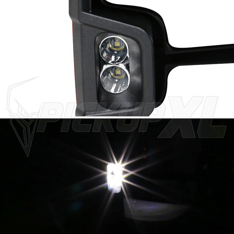 Towing Mirrors - Krom. LED, El-fällbara, Defrost. Silverado 2007-2013