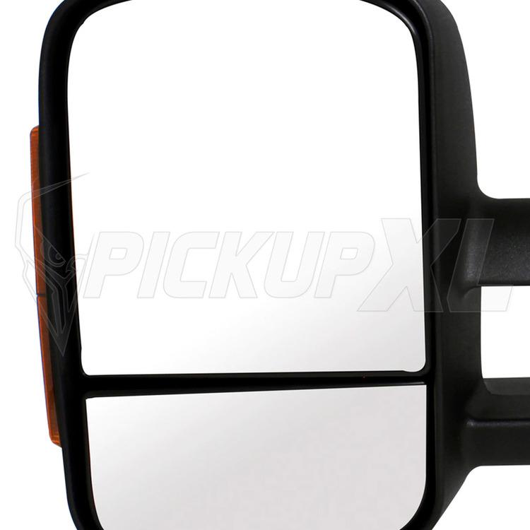 Towing Mirrors - Svart. LED, El-justerbara, Defrost. Silverado 2007-2013