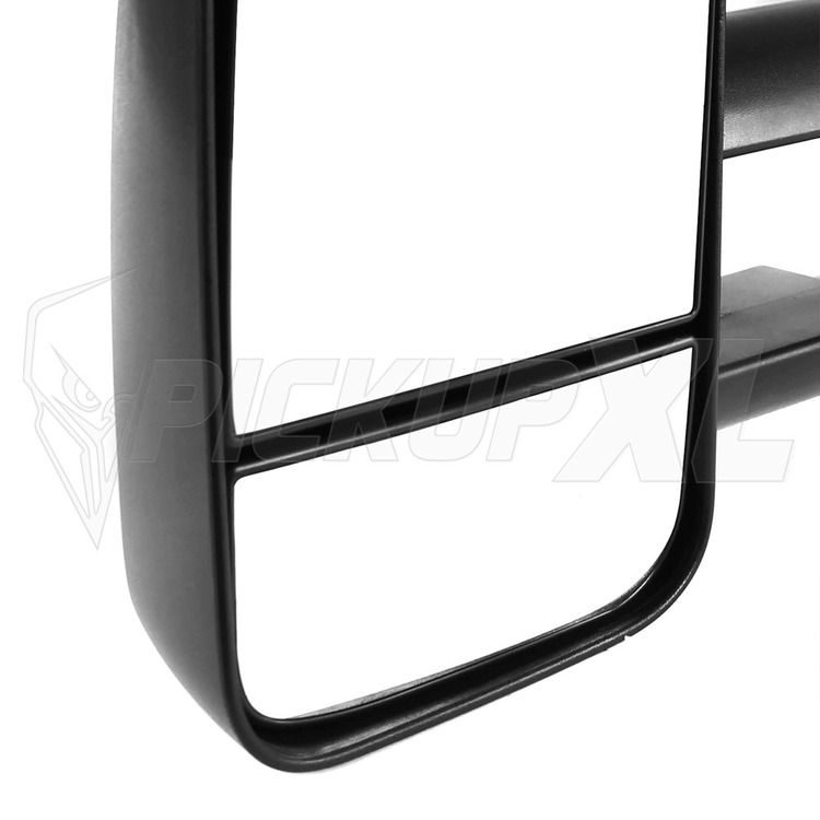Towing Mirrors - Svart. El-justerbara, Defrost. Silverado 2007-2013