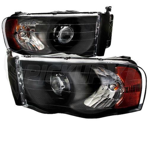 Strålkastare LED Dodge Ram 02-05