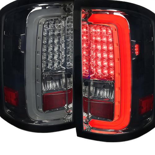 Bakljus LED GMC Sierra 14-16