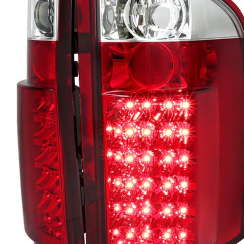 Bakljus LED Chevrolet Silverado  07-14