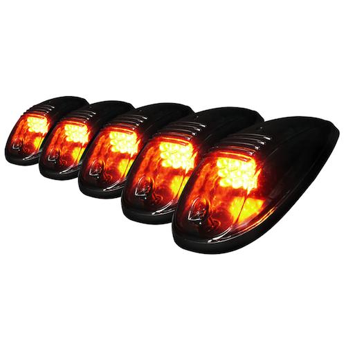 LED Takbelysning / Taklampor set om 5