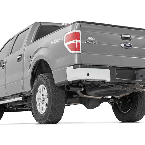Avgassystem Rough Country Cat-back system Ford F-150 09-14