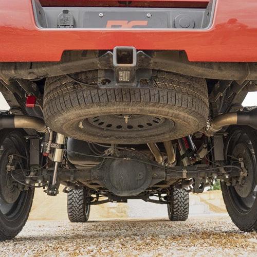Avgassystem Rough Country Cat-back system Chevrolet / GMC 14-18