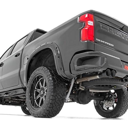 Avgassystem Rough Country Cat-back system Chevrolet / GMC 19-21