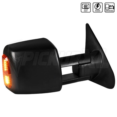 TOWING MIRROR - POWER HEATED LED - RIGHT, Tundra 07-20