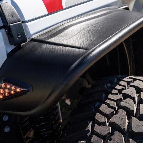 Skärmbreddare Bushwacker -  Jeep Gladiator Rubicon 19-
