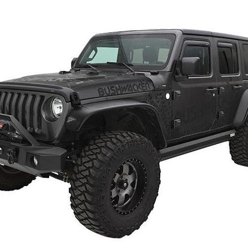 Skärmbreddare Bushwacker -  Jeep Wrangler Rubicon 07-18