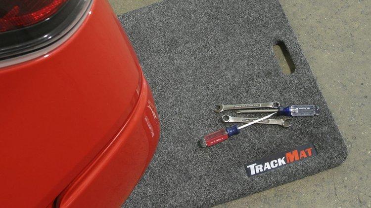 Bedrug Trackmat