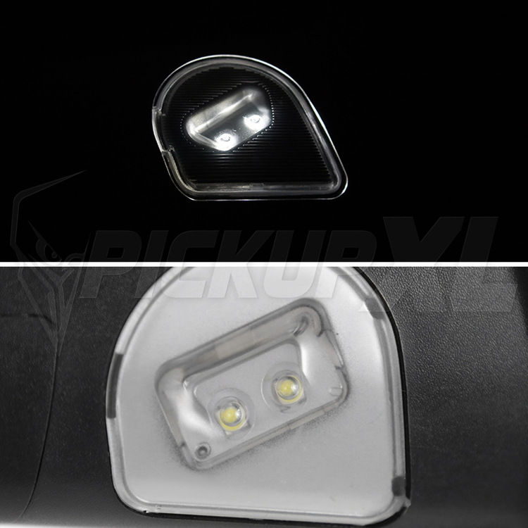Towing Mirrors Power Heated LED Dodge RAM 1500/2500/3500 13-15
