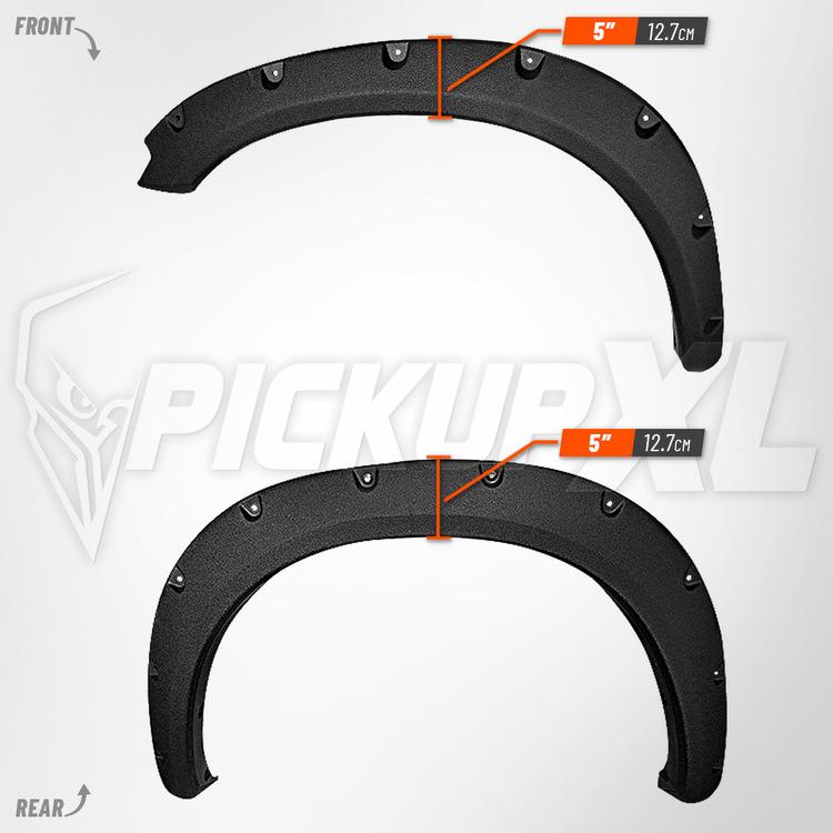 Skärmbreddare Dodge RAM 1500 09-18 Struktur