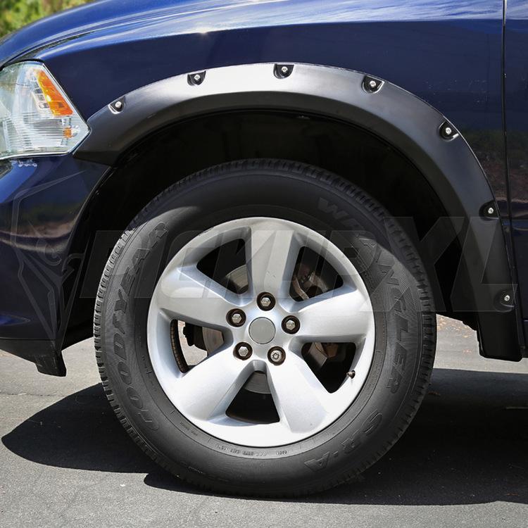 Skärmbreddare Dodge RAM 1500 09-18 Slät