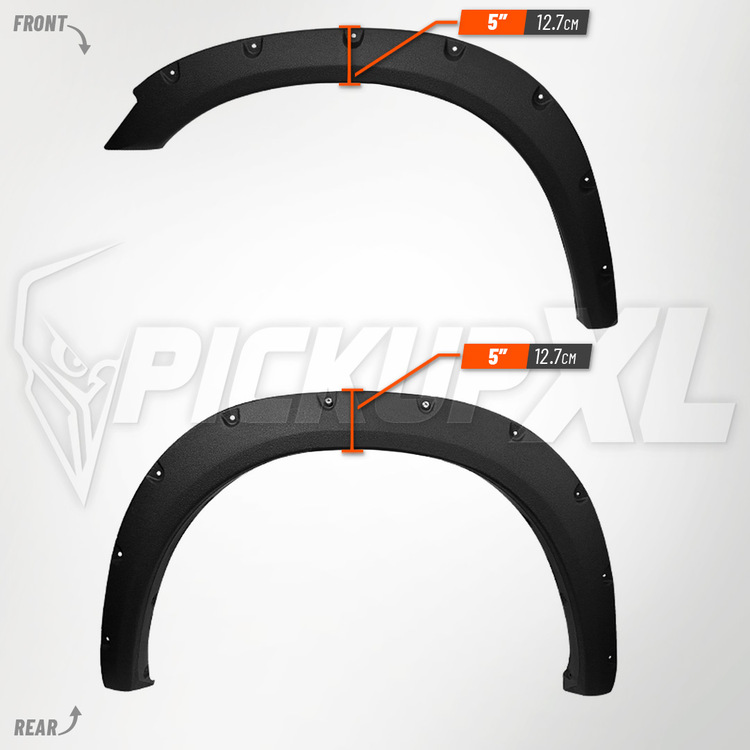 Skärmbreddare Dodge RAM 2500-3500 10-17 Struktur