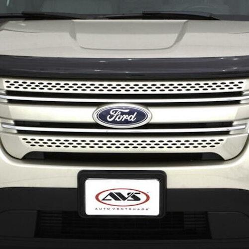 AVS Bugflector II Hood Shield Smoke - Ford Explorer 2011-2014