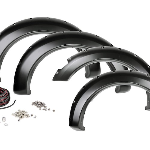 Rough Country Pocket Style Fender Flares - Ram 1500