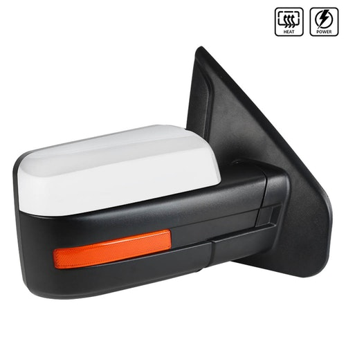 TOWING MIRROR-CHROME- RIGHT, F150 07-14