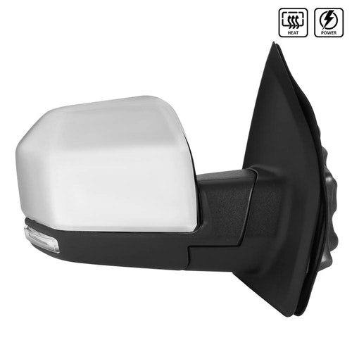 TOWING MIRROR-CHROME-RIGHT, F150 15-17