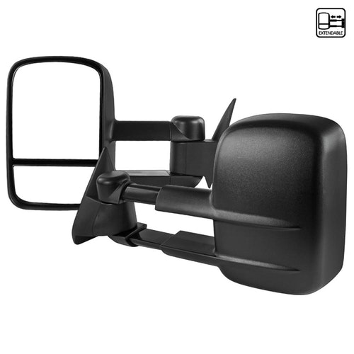 Towing Mirrors - Manuell. C10, C/K 1500-2500-3500, 1988-1998