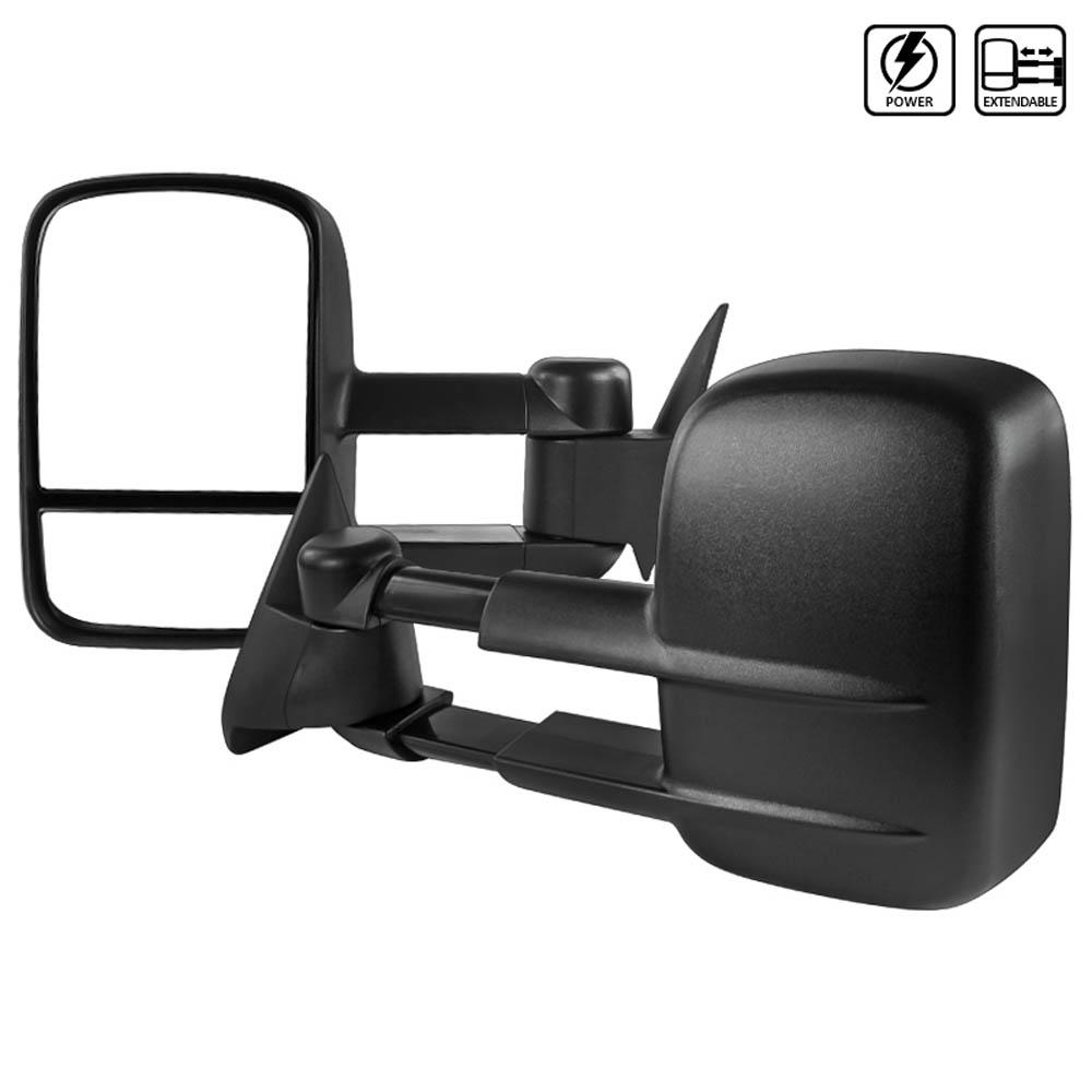 Towing Mirrors - Elektrisk. C10, C/K 1500-2500-3500, 1988-1998
