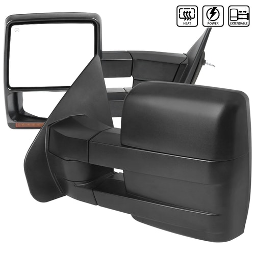TOWING MIRRORS POWER ADJUSTMENT OE TYPE W/ HEATED MIRRORS, F150 04-08