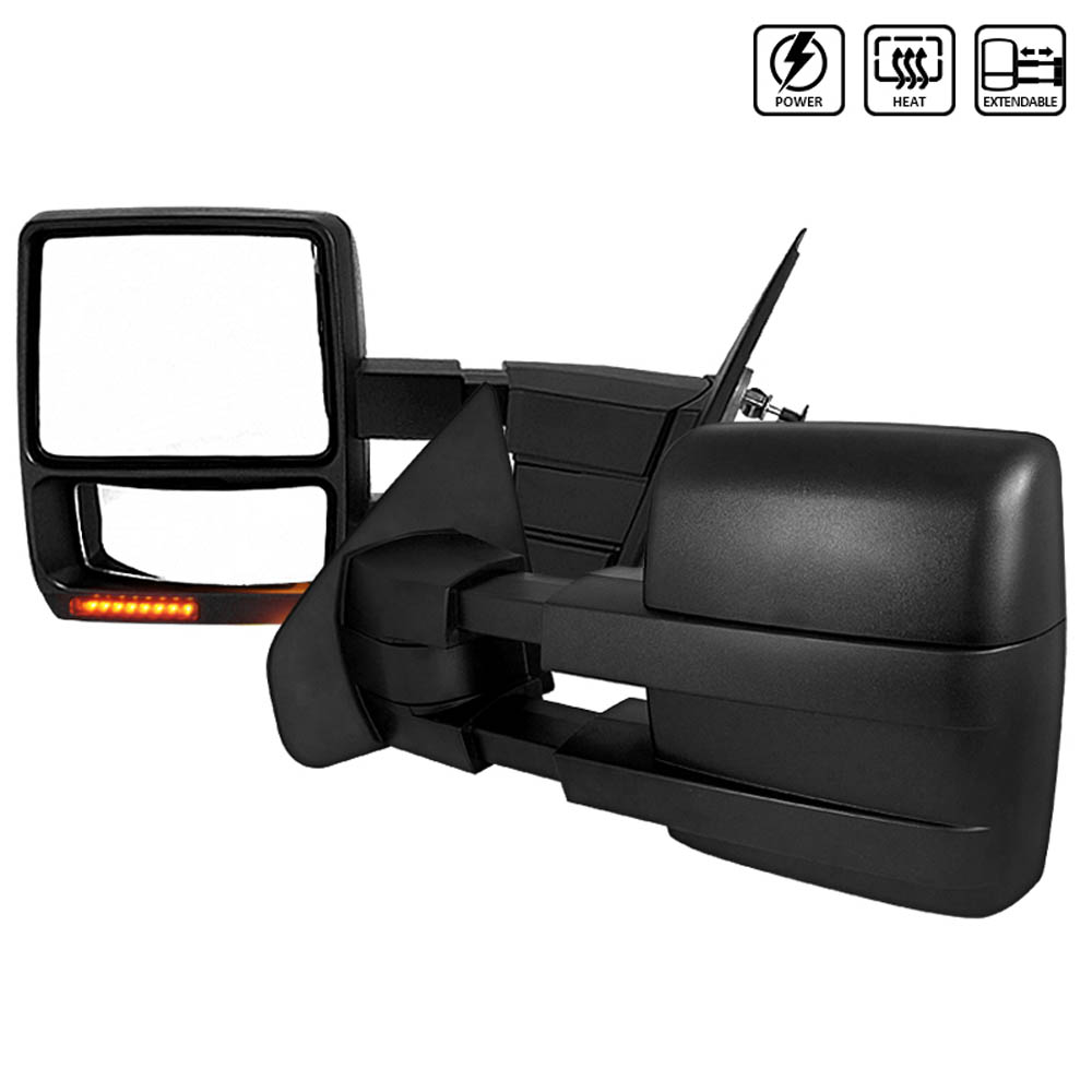 TOWING MIRRORS  POWER HEATED, F150 07-14
