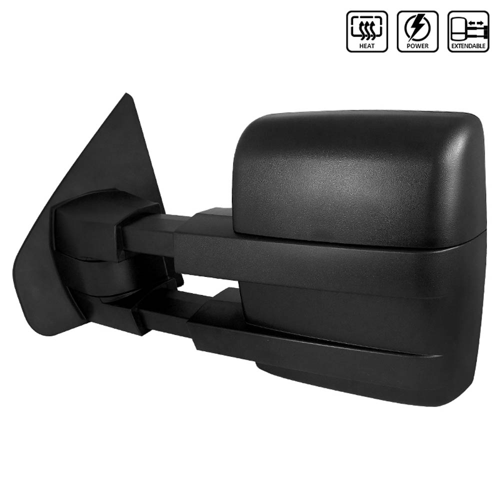 TOWING MIRROR - HEATED / POWER - LEFT ONLY, F150 07-14