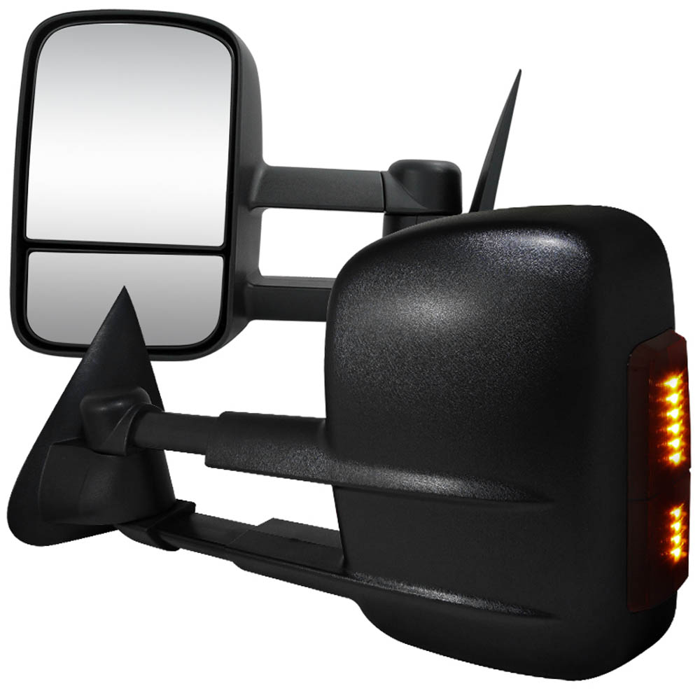 TOWING MIRRORS POWER WITH LED SIGNAL, F150 97-03