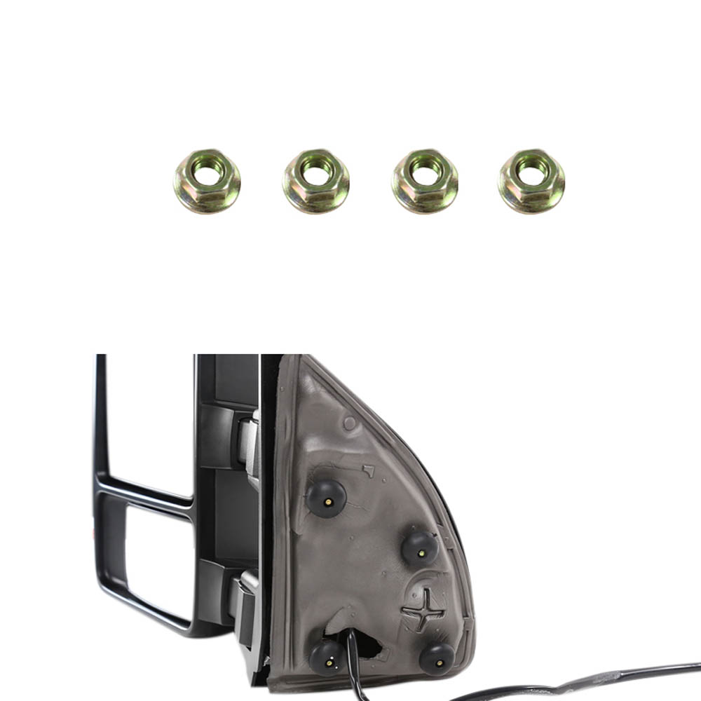 TOWING MIRRORS POWER WITH HEAT FUNCTION, F250 08-10