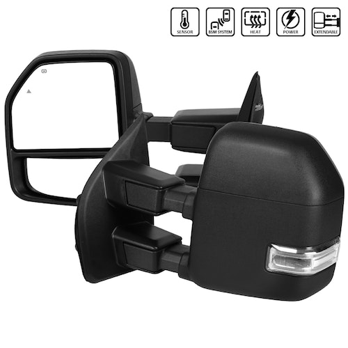 SUPERDUTY- TOWING MIRRORS HEATED, F250 17-