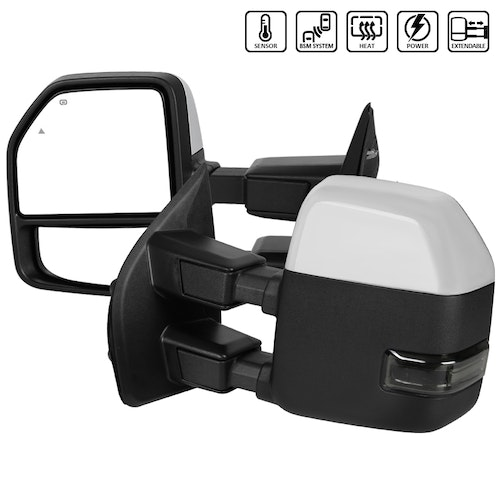 SUPERDUTY-TOWING MIRRORS, F250 17-