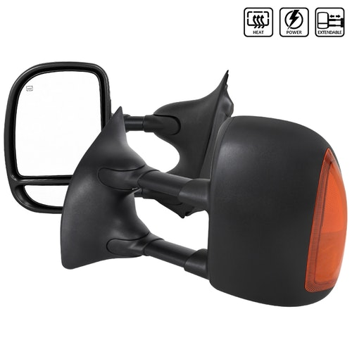 TOWING MIRRORS- POWER HEATED LED, F250 99-07