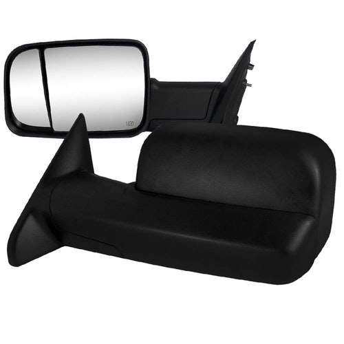 1500 TOWING MIRRORS POWER ADJUSTMENT WITH HEATED FUNCTION, RAM 1500 09-