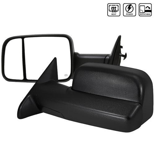 TOWING MIRRORS POWER HEATED, RAM 09-12
