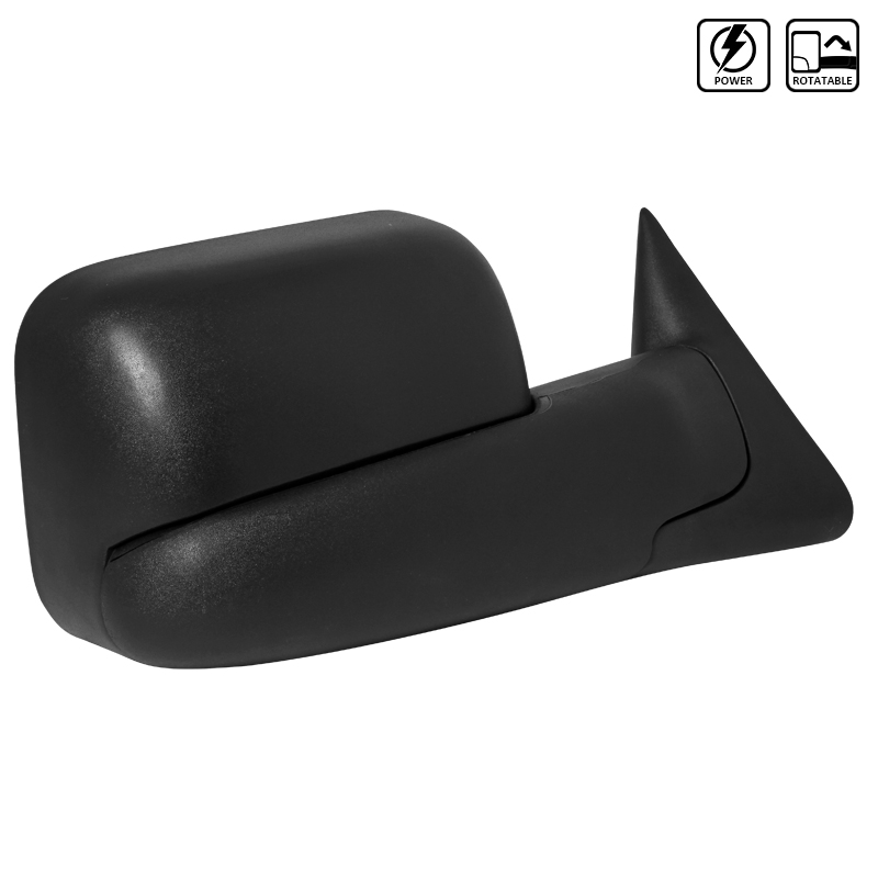 TOWING MIRROR - POWER - RIGHT ONLY, RAM 94-02