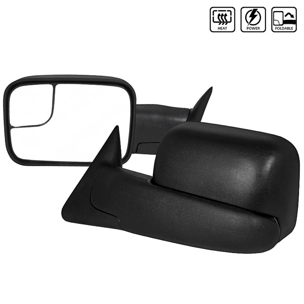 TOWING MIRRORS POWER HEATED, RAM 98-02