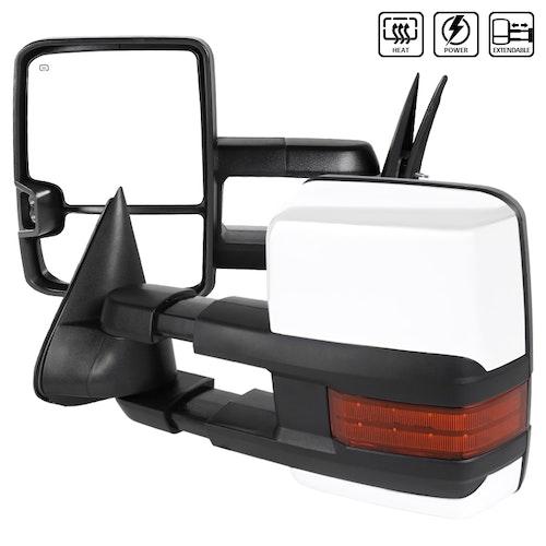 Towing Mirrors - Silverado 2003-2006, Krom. LED, El-fällbara, El-uppvärmning