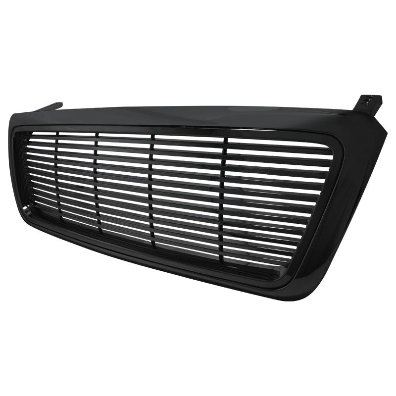 ABS GRILL BLACK, F150 04-08