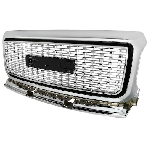 CHROME STYLE GRILLE, Canyon 15-18