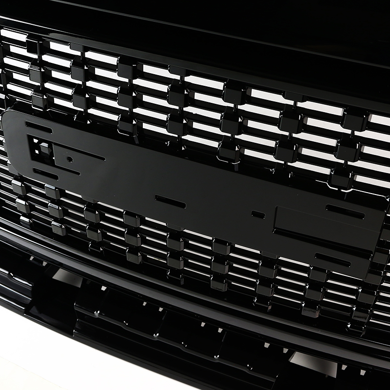 GLOSSY BLACK STYLE GRILLE, Canyon 15-18